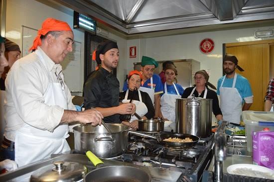Futuros ayudantes de cocina en el cdr o viso de coceder for Ayudante cocina